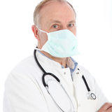 Serious surgeon or medical practitioner Stock Photography