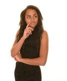 Serious teen girl Stock Photography