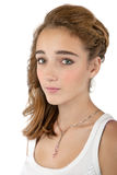 Serious Teenage girl Royalty Free Stock Photo
