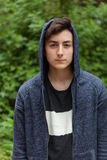 Serious teenager guy Royalty Free Stock Images