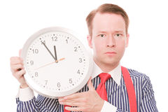 Serious time Royalty Free Stock Photos