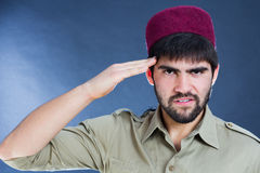 Serious turkish man Stock Photography