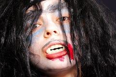 Serious vampire Stock Image