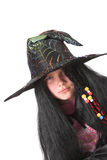 Serious witch Royalty Free Stock Photography