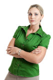 Serious woman Stock Images