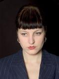 Serious woman Stock Image