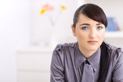 Serious woman Stock Photography