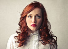 Serious woman Royalty Free Stock Image