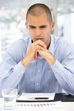 Serious young businessman Stock Image
