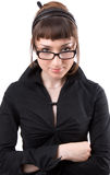 Serious young businesswoman Royalty Free Stock Image