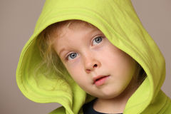 Serious young girl Royalty Free Stock Photography