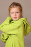 Serious young girl Royalty Free Stock Photo