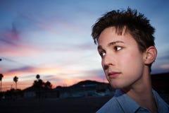 Serious Young Man Stock Photography
