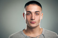 Serious Young Man Royalty Free Stock Image