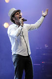Serj Tankian peforming live. Royalty Free Stock Photography