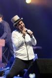 Serj Tankian performing live. Stock Image