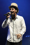 Serj Tankian performing live. Stock Photo