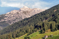 The Serles in the Stubai Valley Stock Photos