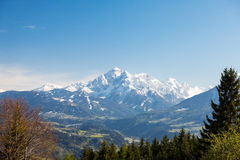 Serles Waldrastspitze in Tyrol Royalty Free Stock Photography
