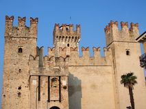 Sermione Castle, Italy Royalty Free Stock Photography