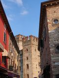 Sermione Castle, Italy Royalty Free Stock Photos