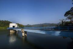 Sermo水库,日惹,印度尼西亚 免版税库存照片