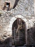 Sermoneta medieval village in Italy Stock Photo