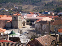 Sernancelhe. Small village of Sernancelhe, near Viseu in Portugal royalty free stock images
