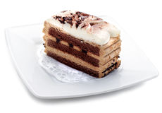 sernik czekoladki deser Obrazy Royalty Free