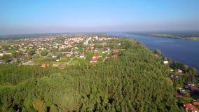 Serock recreation resort by Narew river and Zegrzynski Reservoir near Warsaw, Poland stock video