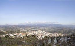 Seron, village of ALmeria. Seron, Andalusia.  A tipical andalusian village of ALmería located in the mountains of Filabres Stock Photography