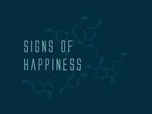 serotonina Immagini Stock Libere da Diritti