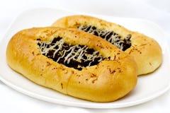 serowa czekoladowa kanapka Obrazy Stock