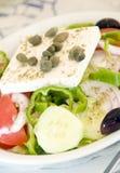 serowa feta grka sałatka zdjęcie royalty free