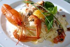 serowa homara parmesan pasty rzeka Fotografia Royalty Free