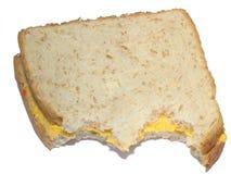 Serowa kanapka obrazy stock