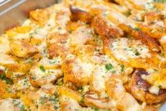 serowa mięsna grula Zdjęcie Stock