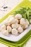 serowa mozzarella Zdjęcie Stock