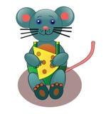 serowa mysz Obraz Royalty Free