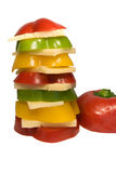serowa papryka Fotografia Stock