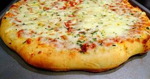 Serowa pizza zdjęcie royalty free