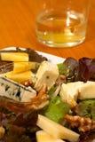 serowa sałatka Zdjęcia Stock