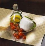 serowa włoska mozzarella zdjęcia stock