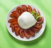 serowa włoska mozzarella zdjęcie stock
