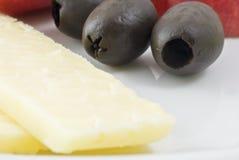 serowe oliwki Zdjęcie Stock