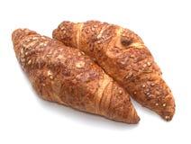 serowi croissants Zdjęcia Royalty Free
