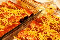 serowi enchiladas Zdjęcia Stock