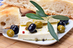 serowy grek Zdjęcia Royalty Free