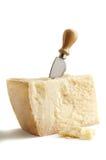 serowy nożowy parmesan Fotografia Royalty Free