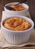 serowy souffle obraz stock